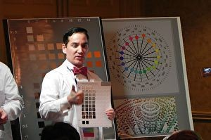 Graydon discusses Munsell Color Theory