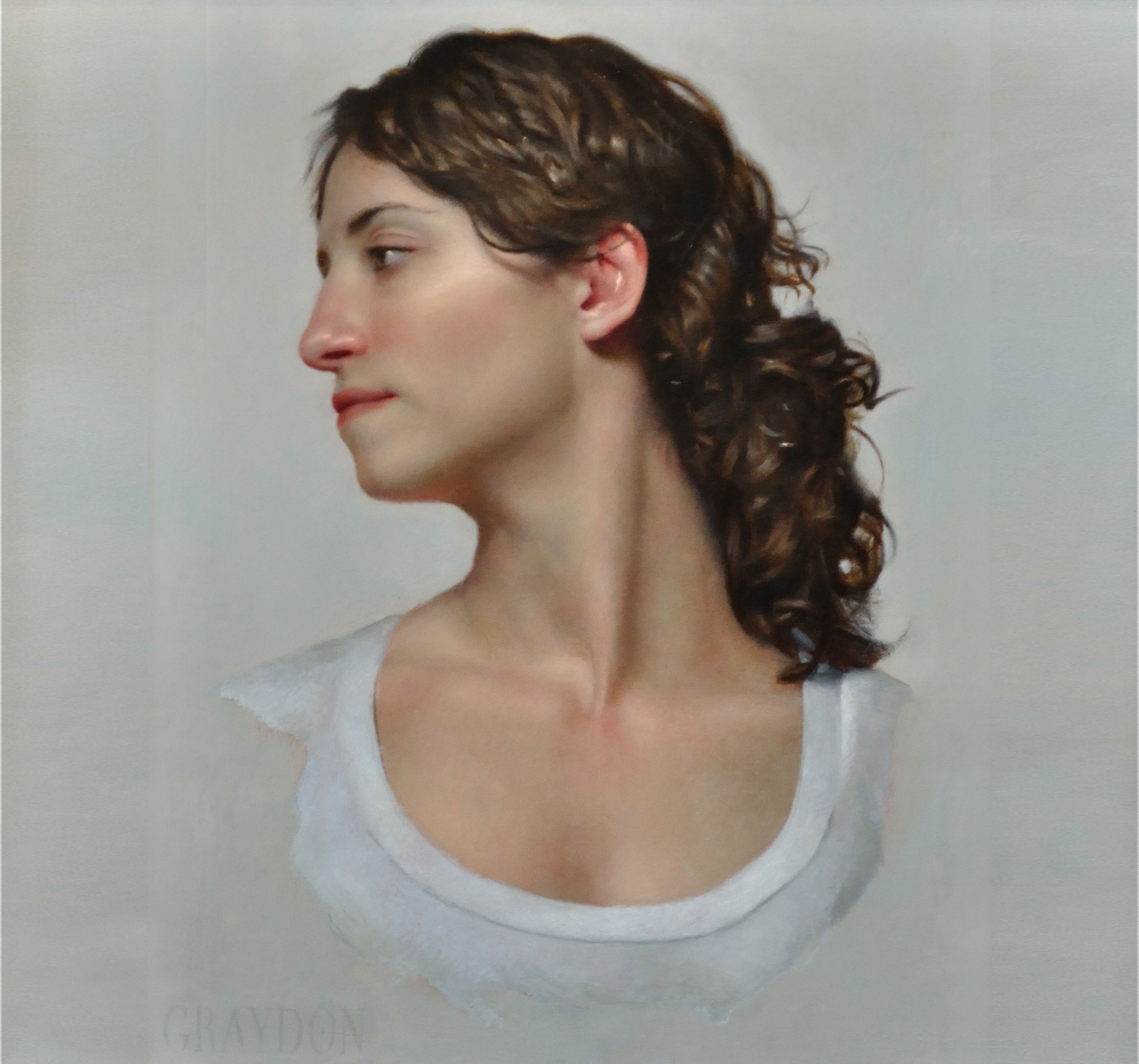 Young Woman Looking to Her Right (Susanna)